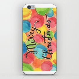 A Cheery, Merry Christmas! iPhone Skin