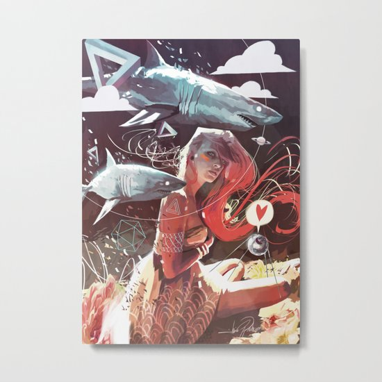 SPUTNIK LOVER Metal Print