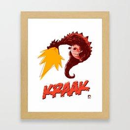 KRAAK – Dragon Framed Art Print