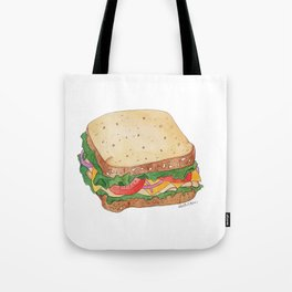 S is for Sandwich Tote Bag