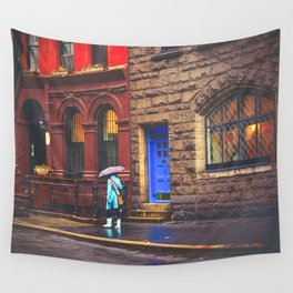 New York City Rainy Afternoon Wall Tapestry