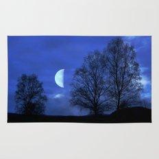 Moon between Trees  - JUSTART © Rug