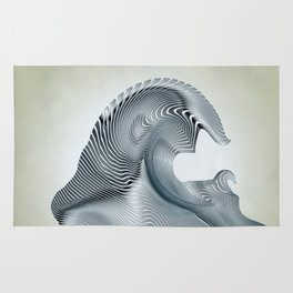 Silver Wave Rug