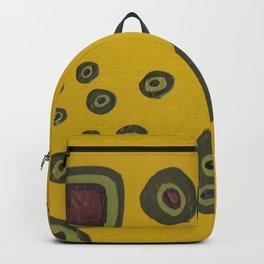 black eye peas four leaf clover Backpack