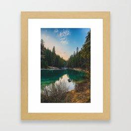 Nature & Chill Framed Art Print