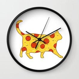 Pepperoni Chonk Wall Clock