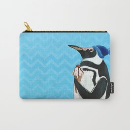 Genial Penguin from Animal Society Carry-All Pouch
