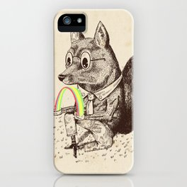 Strange Fox iPhone Case
