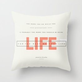 FOR LIFE Throw Pillow