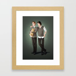 First Order of Magic Framed Art Print