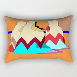 Women of the Deserts Rectangular Pillow