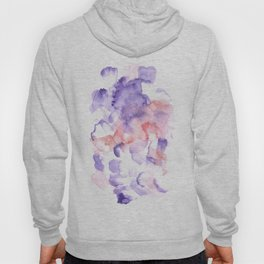 170603 Watercolour Colour Study 1  Modern Watercolor Art   Abstract Watercolors Hoody