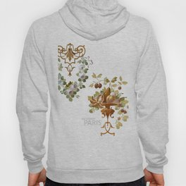 THE DISCREET PARIS Spring blooms and fruits Hoody