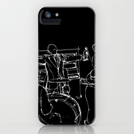 The great Satchmo iPhone Case