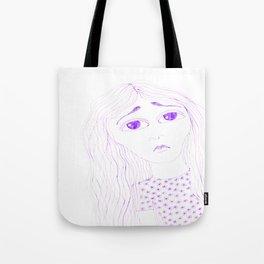 purple sadness2 Tote Bag
