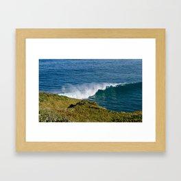 Making Waves Framed Art Print