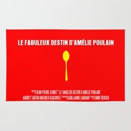 Le Fabuleux Destin d'Amélie Poulain Movie Poster Rug