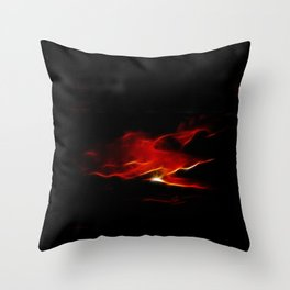 Chariot of Fire Throw Pillow