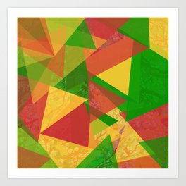 Through The Colors Art Print