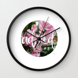 Adored - Botanical  |  The Dot Collection Wall Clock