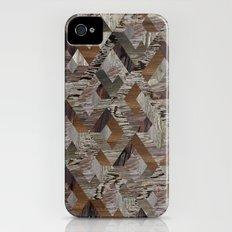 Wood Quilt Slim Case iPhone (4, 4s)
