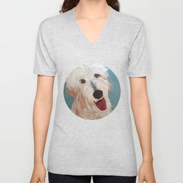 Our Dog Floyd Unisex V-Neck