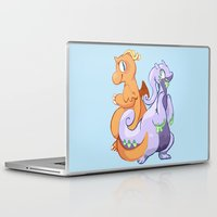 dragons Laptop & iPad Skins featuring Dragons by Rinnai-Rai