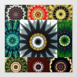 Kaleidoscope Photo Art Canvas Print