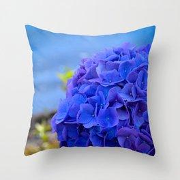 True Blue by Teresa Thompson Throw Pillow