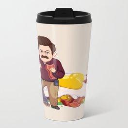 Parks and Food: Ron Metal Travel Mug