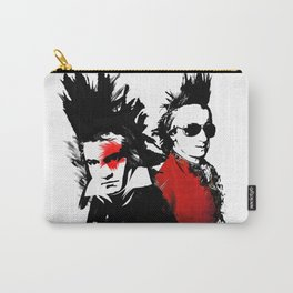 Beethoven Mozart Punk Composers Carry-All Pouch