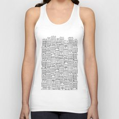 urban winter Unisex Tank Top