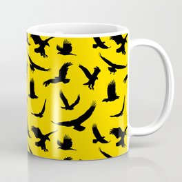 Eagles // Gold Coffee Mug