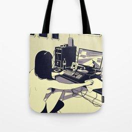 Gamer girl Tote Bag