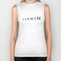 darwin Biker Tanks featuring Darwin by Kapil Bhagat