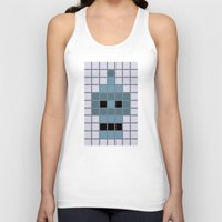bender Tank Tops featuring Bender Was Here by BC Arts