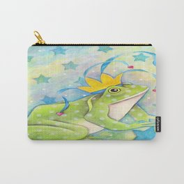 Whimiscal Bull Frog Carry-All Pouch