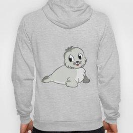 Cute Baby Seal Hoody