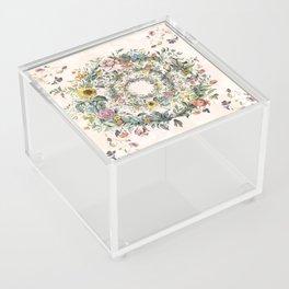 Circle of life- floral Acrylic Box