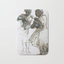 Two Dancers by Edgar Degas, 1873 Bath Mat