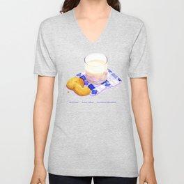 Milk & Cookies Unisex V-Neck