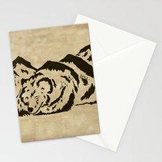 Sleepy Bear Mountain Stationery Cards