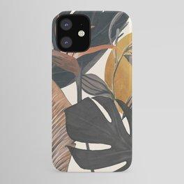 Abstract Tropical Art III iPhone Case
