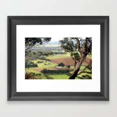 Mount Buninyong Framed Art Print