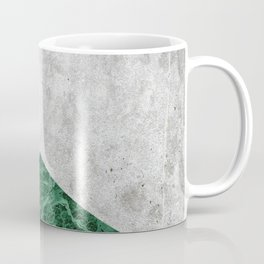 Concrete Arrow - Green Granite #412 Coffee Mug