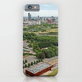 London England megalopolis Parks river Houses Cities Megapolis park Rivers Building iPhone Case