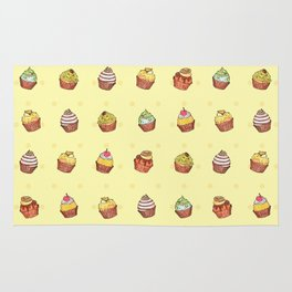 cup cake time! Rug