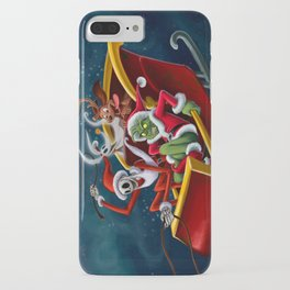 Christmas Hijackers iPhone Case