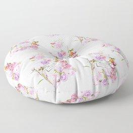 Parfum Perfume Fashion Floral Flowers Blooming Bouquet Floor Pillow