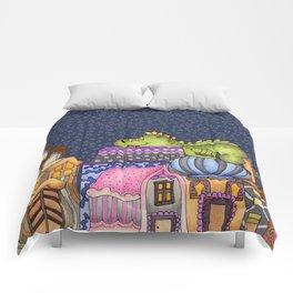 sleeping dino Comforters